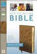 Holy Bible: New International Version, Toffee Italian Duo-Tone, Thinline, Black Letter (Paperback)