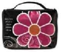 Mod Flower Sparkle Pink Medium Book & Bible Cover (General merchandise)