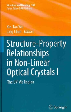 Structure-Property Relationships in Non-Linear Optical Crystals I: The UV-Vis Region (Hardcover)