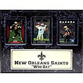 New Orleans Saints 'Who Dat' 3-card Plaque
