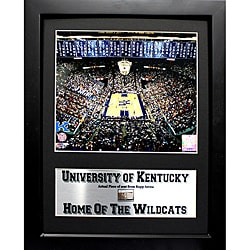 University of Kentucky Deluxe Game-Used Seat Piece Frame