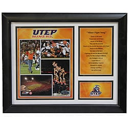 UTEP Miners Deluxe Stat Frame