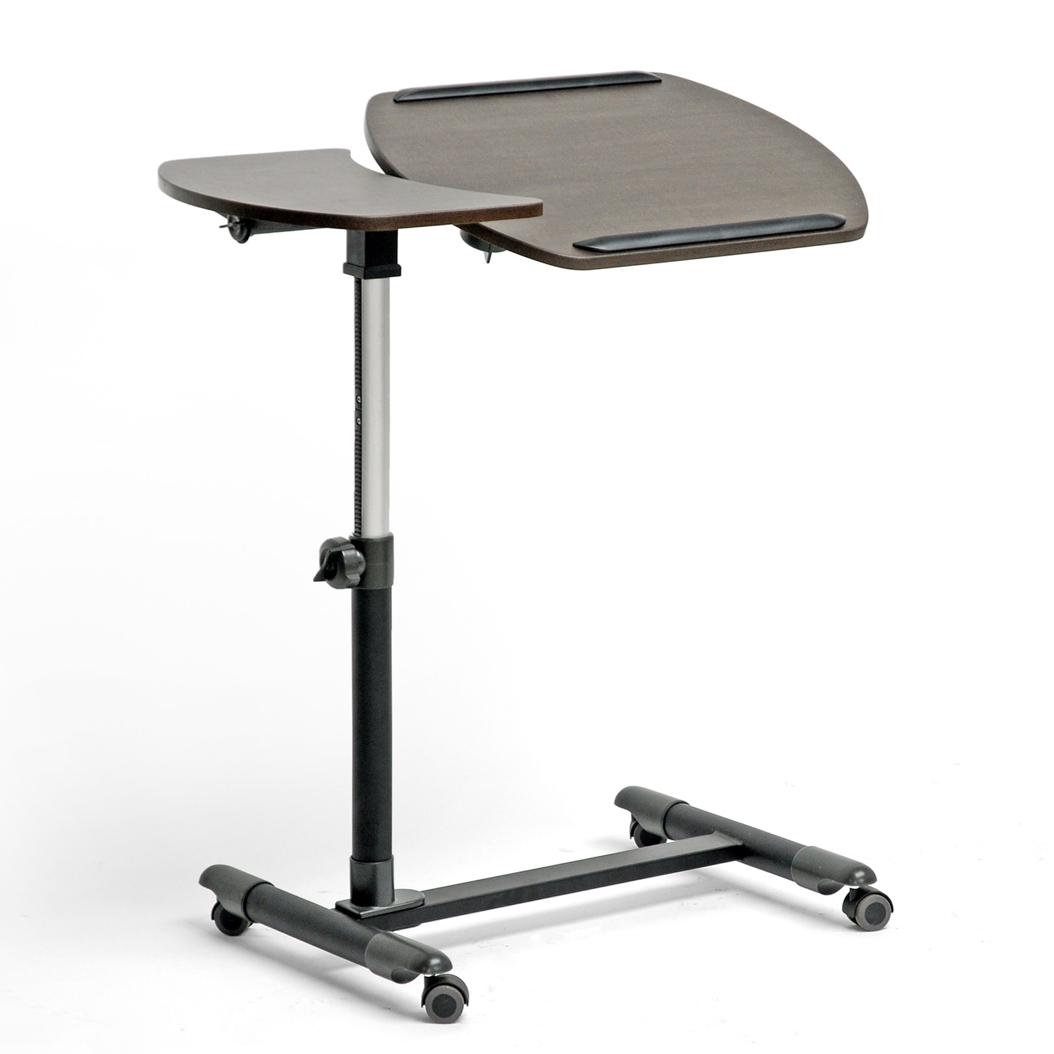 Baxton Olsen Brown Wheeled Laptop Tray Table with Tilt Control at Sears.com
