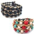 Moon Shadows One Strand Toggle Bracelets (Thailand) (Set of 3)
