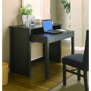 Quinn Black 2-in-1 Office Writing Desk