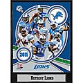 Detroit Lions 2011 Plaque