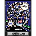 Baltimore Ravens 2011 Plaque