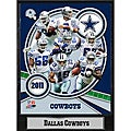 Dallas Cowboys 2011 Plaque
