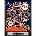 Denver Broncos 2011 Plaque