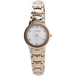 Skagen Women's Rose-gold Plated Watch