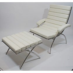 Classic Lounge Chair and Ottoman