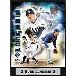 Tampa Bay Rays Evan Longoria Stat Plaque