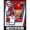 Philadelphia Phillies Cliff Lee Stat Plaque
