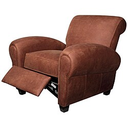 Miguel Brown Leather Recliner
