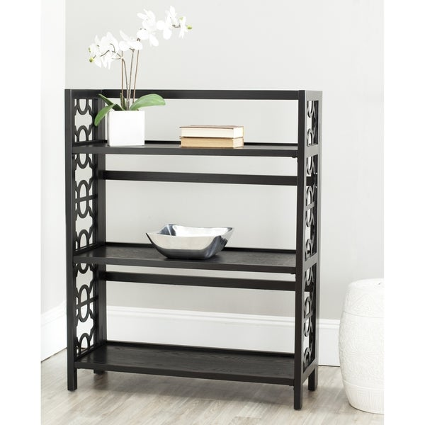 Safavieh Natalie Low Black Bookshelf