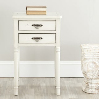 Safavieh Manchester Light Grey Night Stand