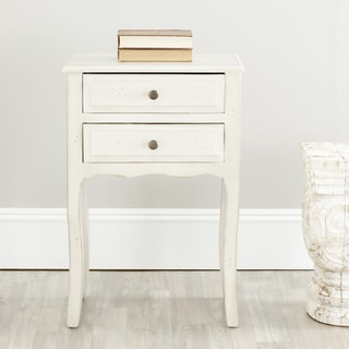 Safavieh Sete White Night Stand