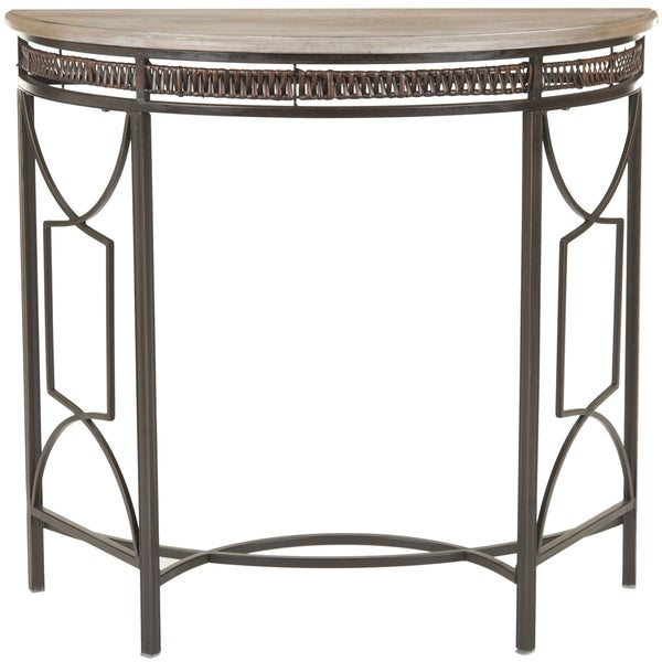 Safavieh Sete Antiqued Copper Finish Console Table