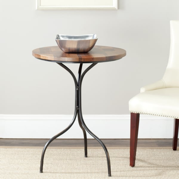 Safavieh Vienne Brown Side Table