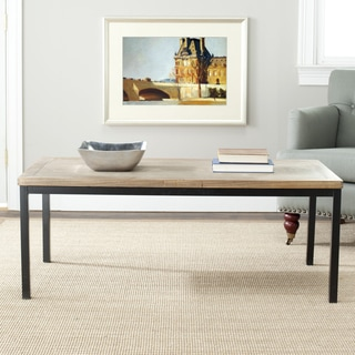 Safavieh York Brown Coffee Table