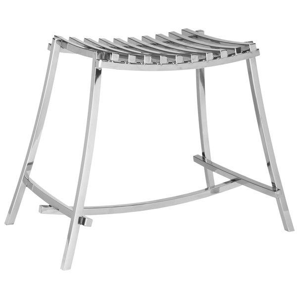 Safavieh Chic Deco Stainless Steel Stool