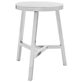 Safavieh Chic Timeless Stainless Steel Stool