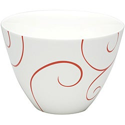 Red Vanilla Panache Rouge Coupe Bowls (Set of 6)
