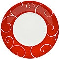 Red Vanilla Panache Rouge Salad Plates (Set of 6)
