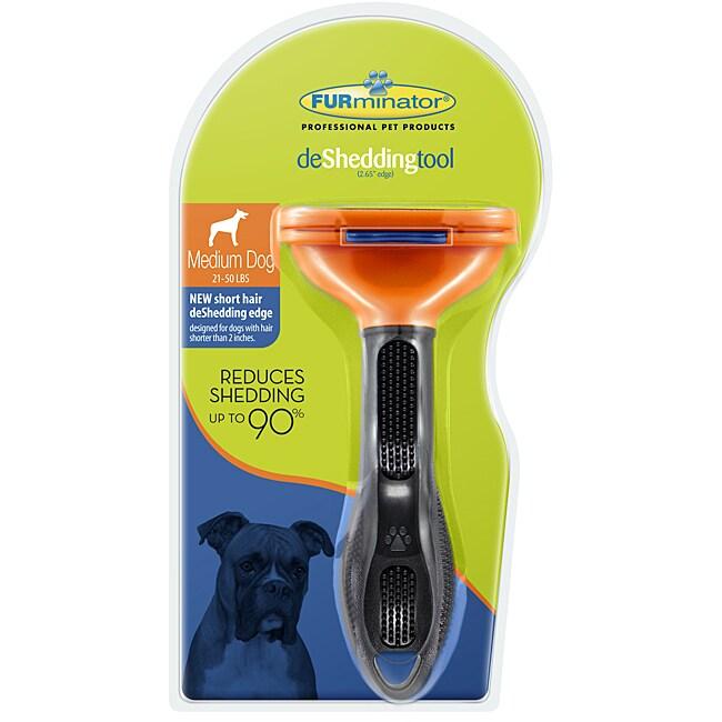 Furminator Short Hair Medium Dog Deshedding Tool
