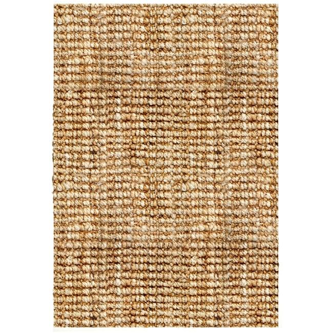 Hand-woven Sahara Boucle Weave Jute Rug (3' x 5')