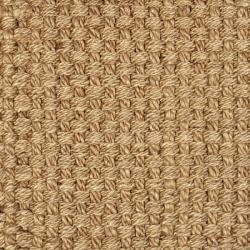 Hand-woven Eclipse Basketweave Jute Rug (5' x 8')