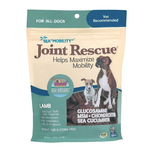Ark Naturals Sea 'Mobility' Joint Rescue 9-ounce Lamb Jerky Dog Treats