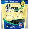 Breathless Toothpaste for Small to Medium Dogs (12 ounces)
