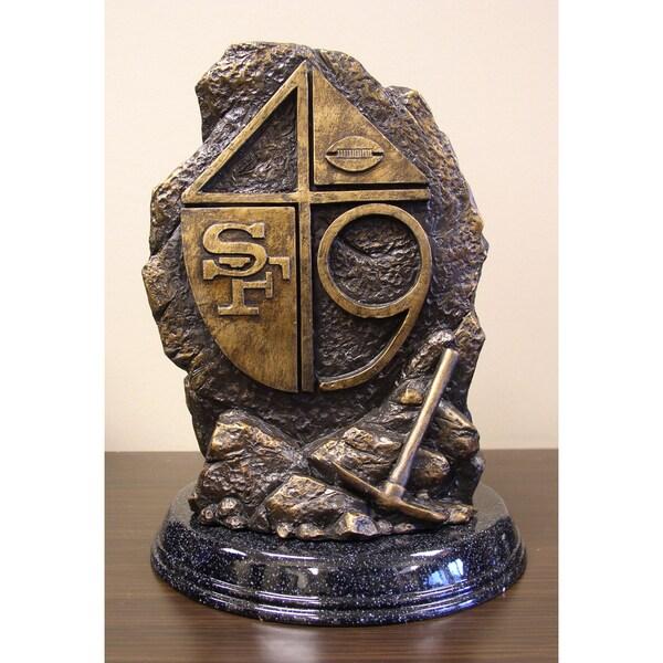 Tim Wolfe NFL Hand Carved Sculpture