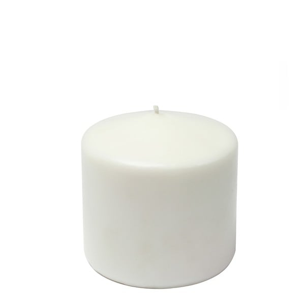 3x3 Inch White Pillar Candles (Case of 12)
