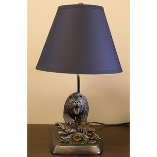 Chicago Bears Tim Wolfe Sculpture Lamp