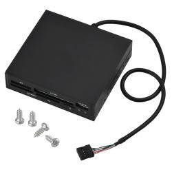 INSTEN Black 3.5-inch All-in-1 Internal Memory Card Reader