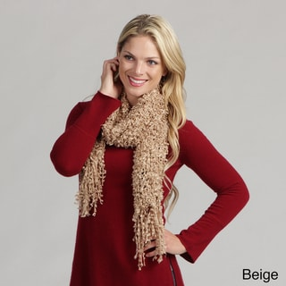 Cashmere Showroom 'Confetti' Boucle Knit Scarf