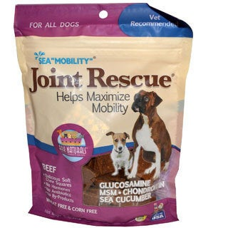 Ark Naturals Sea 'Mobility' Joint Rescue 9-ounce Beef Jerky Dog Treats