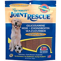 Ark Naturals Sea 'Mobility' Joint Rescue Venison Jerky Dog Treats (9 ounces/22 count)