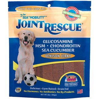 Ark Naturals Sea 'Mobility' Joint Rescue Venison Jerky Dog Treats (9 ounces/22 count)