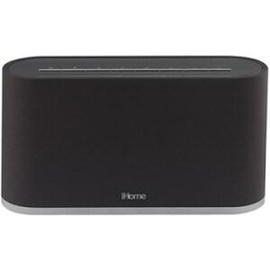 iHome IW2BC Speaker System - Wireless Speaker(s) - Black