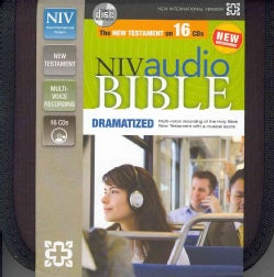 NIV Audio Bible: New International Version, New Testament Audio Bible, Dramatized (CD-Audio)
