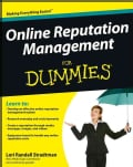 Online Reputation Management for Dummies (Paperback)