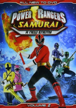 Power Rangers Samurai: A New Enemy Vol. 2 (DVD)