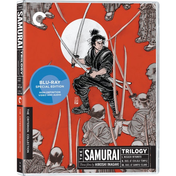 The Samurai Trilogy Box Set - Criterion Collection (Blu-ray Disc) 8950444