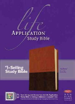 Life Application Study Bible: New King James Version, Brown / Tan TuTone LeatherLike (Paperback)