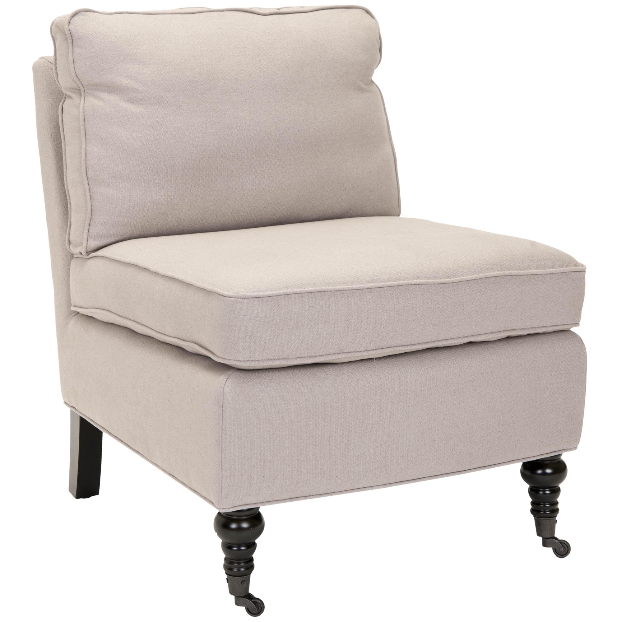 Safavieh Bosio Beige Linen Armless Club Chair at Sears.com