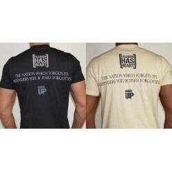 Fashion Has Heart Corporal Hoffman Series Total Sacrifice Shirt