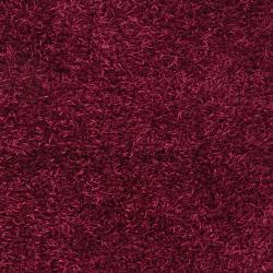Hand-woven Pink Vivid Soft Shag (1'9 x 2'10)